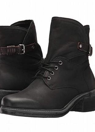 Otbt ботинки черные кожаные сша 38 р.2 фото