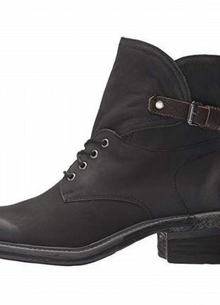 Otbt ботинки черные кожаные сша 38 р.7 фото