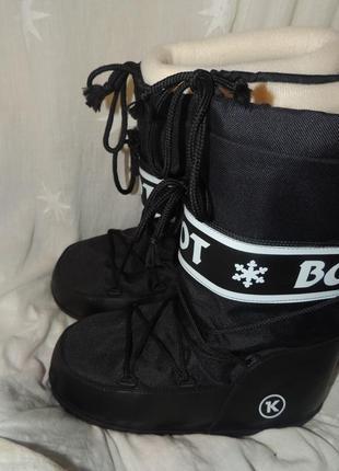 Сапоги луноходы зимние boot р 41-422 фото