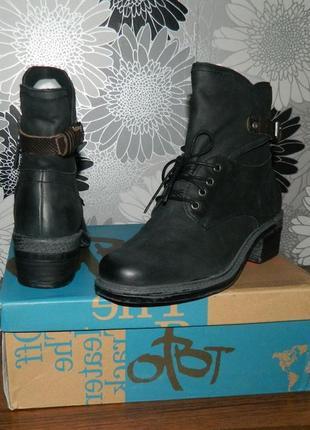 Otbt ботинки черные кожаные сша 38 р.10 фото