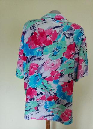Легкая яркая английская блузочка4 фото