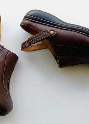 Туфли с открытой пяткой clarks unstructured, размер 37 (европейский 4), полнота d4 фото