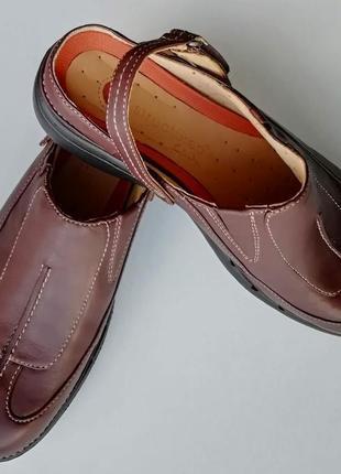 Туфли с открытой пяткой clarks unstructured, размер 37 (европейский 4), полнота d3 фото