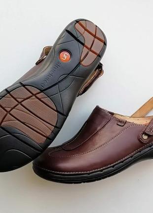 Туфли с открытой пяткой clarks unstructured, размер 37 (европейский 4), полнота d7 фото