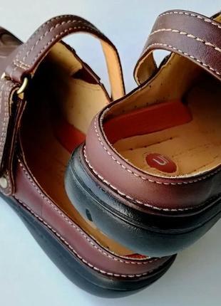 Туфли с открытой пяткой clarks unstructured, размер 37 (европейский 4), полнота d8 фото
