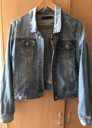 Джинсовка джинсовая куртка1 фото