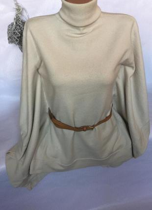 Нежный стильный свитер с шерсти  karen millen1 фото