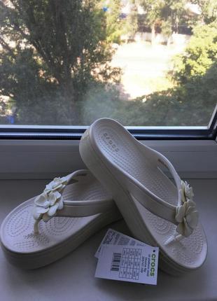 Crocs шлёпки3 фото