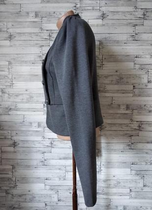 Пиджак женский серый bwny jeans6 фото