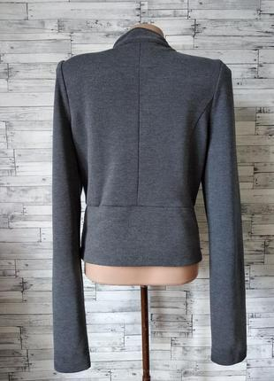 Пиджак женский серый bwny jeans3 фото