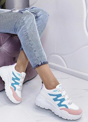 Новые шикарные женские белые кроссовки1 фото