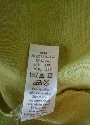 Красивая блузочка лен6 фото