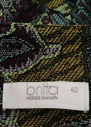 Britta, жакет пиджак вискоза, made in germany7 фото