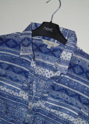 Тоненькая рубашка в арнамент от  peacocks4 фото