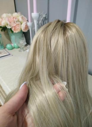 Парик блонд перука4 фото