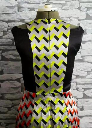 Эксклюзивное платье river island julien smith, 8 р. сатин. новое!3 фото