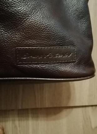 Стильная сумка шоппер, натуральная кожа2 фото