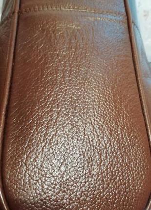 Стильная сумка шоппер, натуральная кожа3 фото