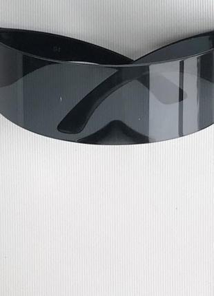 Очки космические цельные сплошным стеклом4 фото