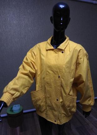 Котоновая курточка, куртка, ветровка, бомбер.1 фото
