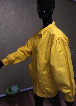 Котоновая курточка, куртка, ветровка, бомбер.2 фото
