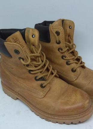 Кожаные деми ботинки 36 размер германия4 фото