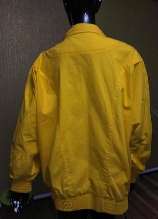 Котоновая курточка, куртка, ветровка, бомбер.3 фото