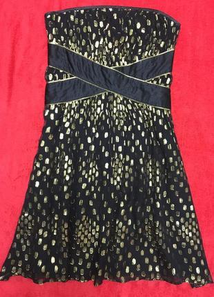Коктейльное платье из натурального шелка warehouse1 фото