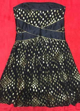 Коктейльное платье из натурального шелка warehouse2 фото