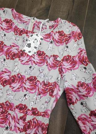 Красивое платье с далматинцами от cath kidston, 8 р. новое!2 фото