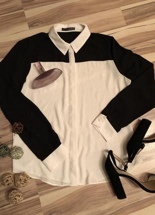 Шифоновая блузка,рубашка atmosphere (великобритания🇬🇧)1 фото