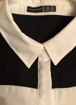 Шифоновая блузка,рубашка atmosphere (великобритания🇬🇧)2 фото