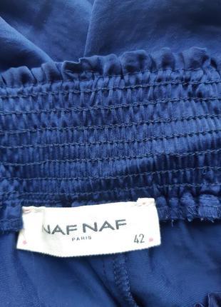 Длинная синяя юбка naf naf2 фото