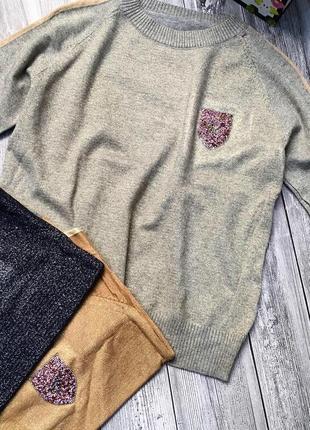 Женская кофточка люрекс2 фото