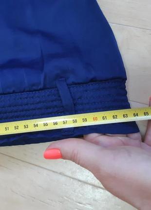 Длинная синяя юбка naf naf8 фото