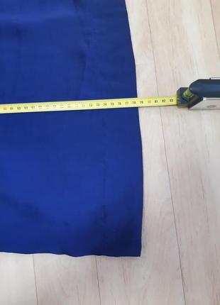 Длинная синяя юбка naf naf10 фото