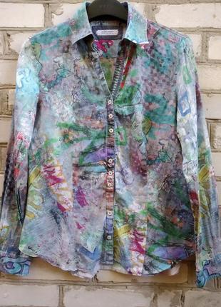 Коттоновая рубашка1 фото