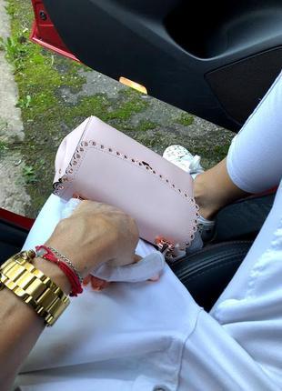 Изящная элегантная сумочка crossbody от michael kors ava extra-small оригинал4 фото