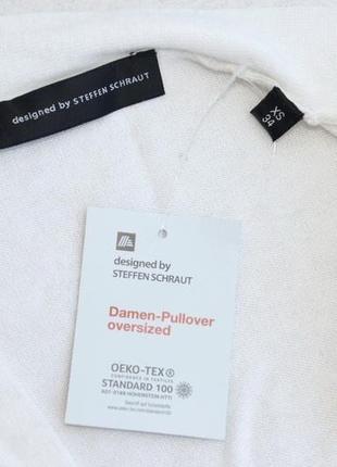 Пуловер с кашемиром оверсайз steffen schraut германия xs 344 фото