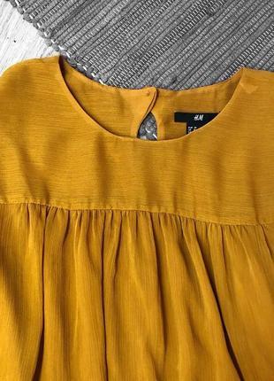 Актуальное нежное платье с длинным рукавом от h&m3 фото