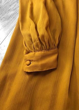 Актуальное нежное платье с длинным рукавом от h&m4 фото
