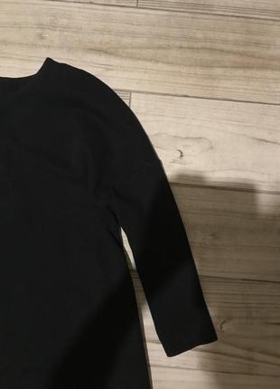 Чёрный свитшот ,удлиненный свитшот ,батник h&m2 фото