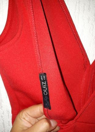 Платье красное3 фото