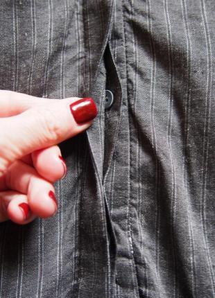 Стильное платье халат кардиган пиджак из льна zara6 фото