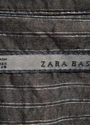 Стильное платье халат кардиган пиджак из льна zara7 фото