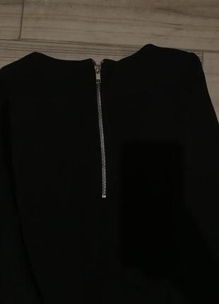 Чёрный свитшот ,удлиненный свитшот ,батник h&m4 фото