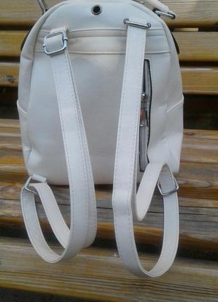 Рюкзак белый2 фото