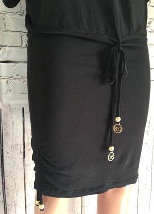 Крутая вещь в вашем гардеробе!!! туника чёрная с завязками5 фото