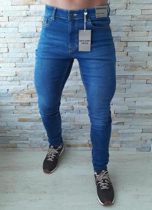 Мужские джинсы new look  super skinny