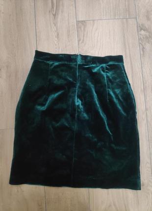 Бархатная юбка2 фото